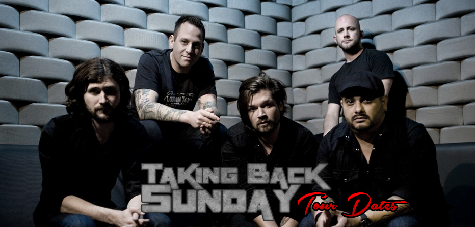 Taking Back Sunday Tour Dates